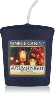 Yankee Candle Autumn Night candela votiva 49 g
