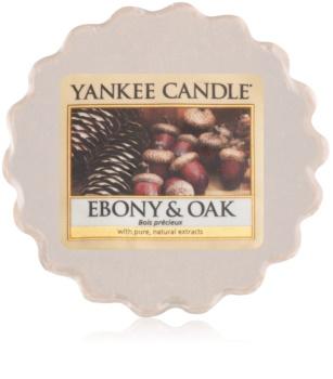 Yankee Candle Ebony & Oak illatos viasz aromalámpába 22 g