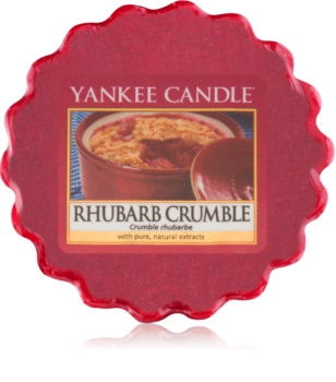 Yankee Candle Rhubarb Crumble ceară pentru aromatizator 22 g
