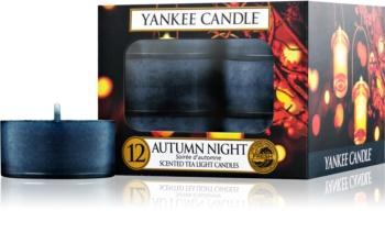 Yankee Candle Autumn Night čajová svíčka 12 ks