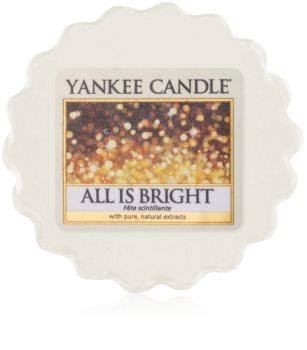 Yankee Candle All is Bright illatos viasz aromalámpába 22 g