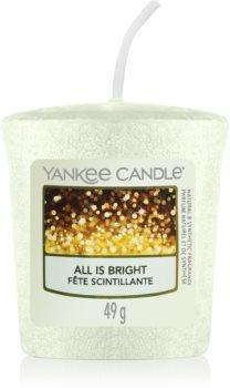 Yankee Candle All is Bright votívna sviečka 49 g