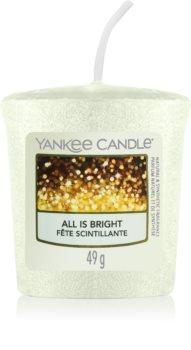 Yankee Candle All is Bright votívna sviečka