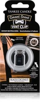 Yankee Candle Black Coconut Auto luchtverfrisser  4 ml Clip