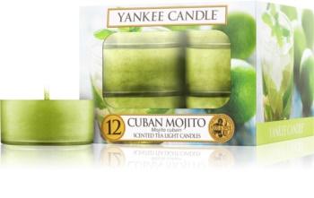 Yankee Candle Cuban Mojito Theelichtje  12,1 gr