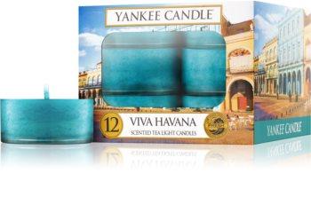 Yankee Candle Viva Havana Theelichtje  12 x 9,8 gr