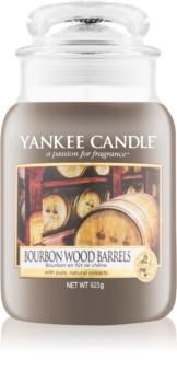 Yankee Candle Bourbon Wood Barrels vonná sviečka 623 g Classic veľká