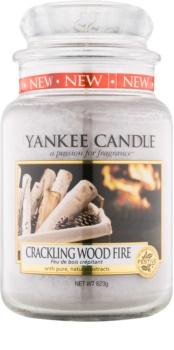 Yankee Candle Crackling Wood Fire świeczka zapachowa  623 g Classic duża