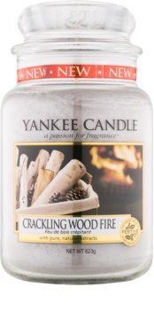 Yankee Candle Crackling Wood Fire vonná sviečka 623 g Classic veľká