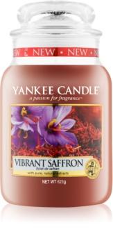Yankee Candle Vibrant Saffron candela profumata 623 g Classic grande