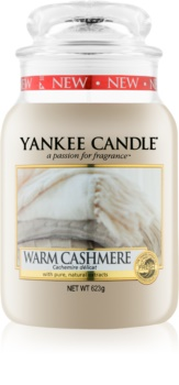 Yankee Candle Warm Cashmere αρωματικό κερί Κλασικό μεγάλο 623 γρ