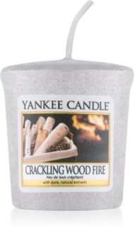 Yankee Candle Crackling Wood Fire lumânare votiv 22 g