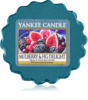 Yankee Candle Mulberry & Fig ceară pentru aromatizator 22 g