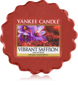 Yankee Candle Vibrant Saffron tartelette en cire 22 g