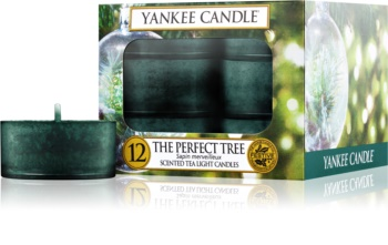 Yankee Candle The Perfect Tree bougie chauffe-plat 12 pcs