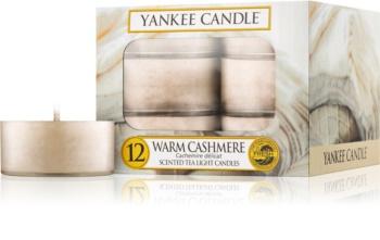 Yankee Candle Warm Cashmere čajová svíčka 12 x 9,8 g