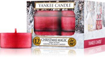 Yankee Candle Christmas Magic bougie chauffe-plat 12 pcs