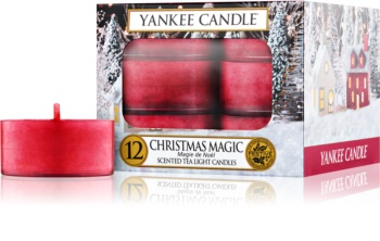 Yankee Candle Christmas Magic čajová sviečka 12 ks