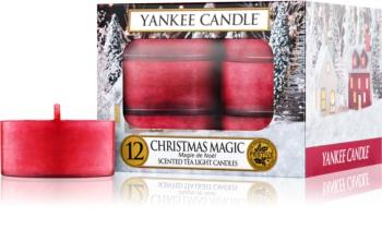 Yankee Candle Christmas Magic čajová sviečka 12 ks