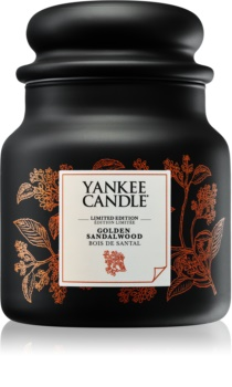 Yankee Candle Golden Sandalwood illatos gyertya  410 g közepes