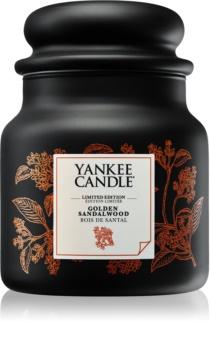 Yankee Candle Golden Sandalwood vonná svíčka 410 g střední