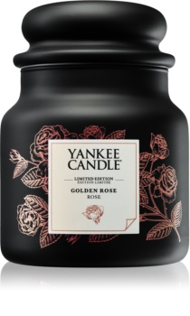Yankee Candle Golden Rose candela profumata 410 g medio