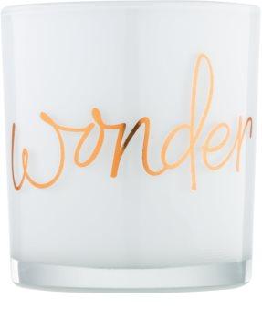 Yankee Candle Magical Christmas Üveg gyertyatartó fogadalmi gyertya alá   Wonder