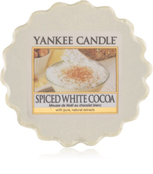 Yankee Candle Spiced White Cocoa vosek za aroma lučko  22 g