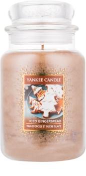 Yankee Candle Iced Gingerbread ароматизована свічка  623 гр Classic велика