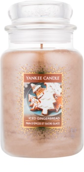 Yankee Candle Iced Gingerbread bougie parfumée 623 g Classic grande