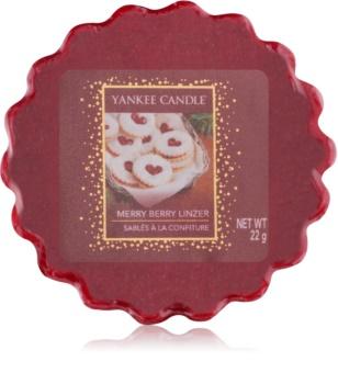 Yankee Candle Merry Berry Linzer Wachs für Aromalampen 22 g