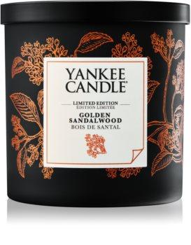 Yankee Candle Golden Sandalwood vonná svíčka 198 g malá