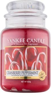 Yankee Candle Cranberry Peppermint candela profumata 623 g Classic grande