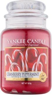 Yankee Candle Cranberry Peppermint vonná svíčka 623 g Classic velká