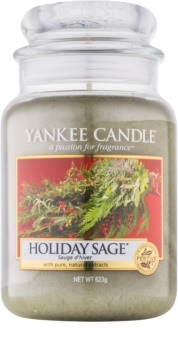 Yankee Candle Holiday Sage vonná svíčka 623 g Classic velká