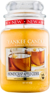 Yankee Candle Honeycrisp Apple Cider bougie parfumée 623 g Classic grande