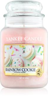 Yankee Candle Rainbow Cookie vonná svíčka 623 g Classic velká