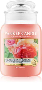 Yankee Candle Sun-Drenched Apricot Rose świeczka zapachowa  623 g Classic duża