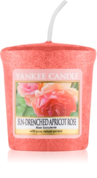 Yankee Candle Sun-Drenched Apricot Rose candela votiva 49 g