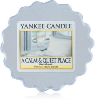 Yankee Candle A Calm & Quiet Place cera derretida aromatizante 22 g
