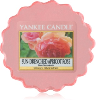 Yankee Candle Sun-Drenched Apricot Rose tartelette en cire 22 g