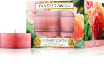 Yankee Candle Sun-Drenched Apricot Rose čajna svijeća 12 x 9,8 g