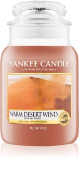 Yankee Candle Warm Desert Wind candela profumata 623 g Classic grande