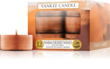 Yankee Candle Warm Desert Wind Tealight Candle 12 x 9,8 g