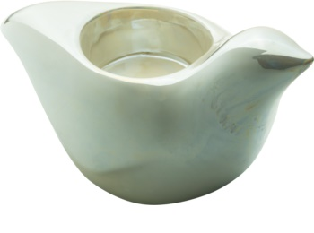 Yankee Candle Pearlescent Dove Ceramic Tea Light Holder