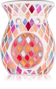 Yankee Candle Warm Rustic Glass Aroma Lamp