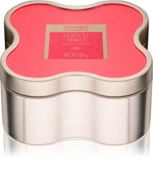 Yankee Candle Tropical Jungle illatos gyertya  184 g pléh doboz