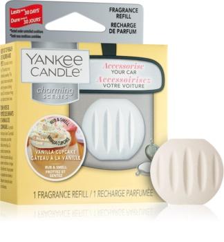 Yankee Candle Vanilla Cupcake deodorante per auto   ricarica