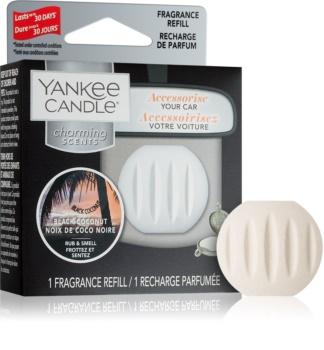 Yankee Candle Black Coconut vôňa do auta   náhradná náplň