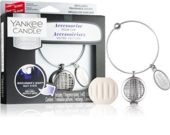 Yankee Candle Midsummer´s Night parfum pentru masina   pandantiv + refill (Geometric)